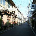 飛田新地の町並み(嘆きの壁・鯛よし百番)と歴史